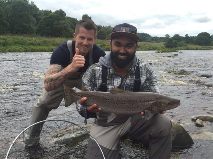 Ripons first sea trout from the South Tyne