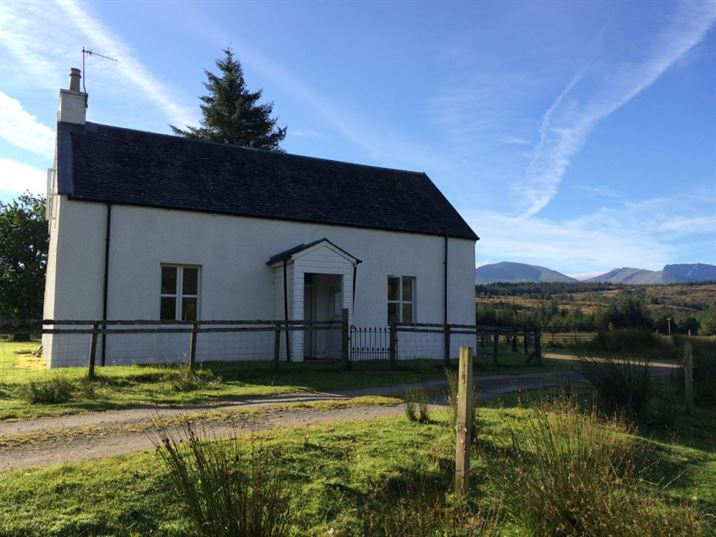 Our home base Ivy cottage on the river Lochy